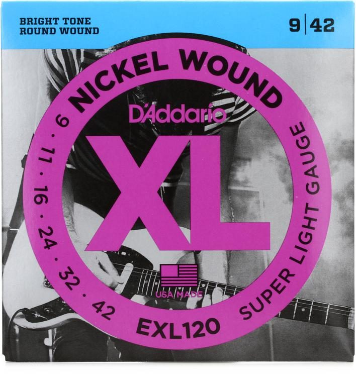 Daddario EXL 120 Electric Strings