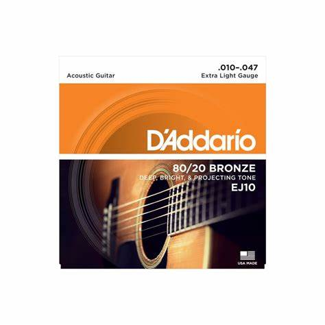 D'Addario EJ10 Acoustic Strings