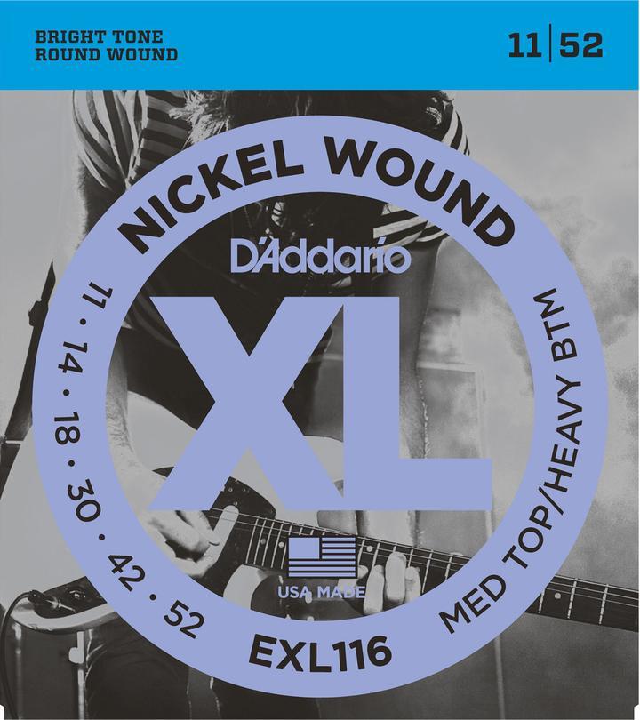 D'Addario EXL116 Electric Strings