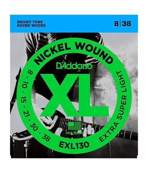 D'Addario EXL130 Electric Strings
