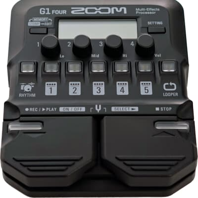 Zoom G1-four guitar processor