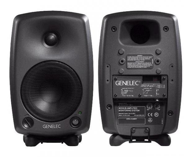 Genelec 8030 Pair Monitor Speaker