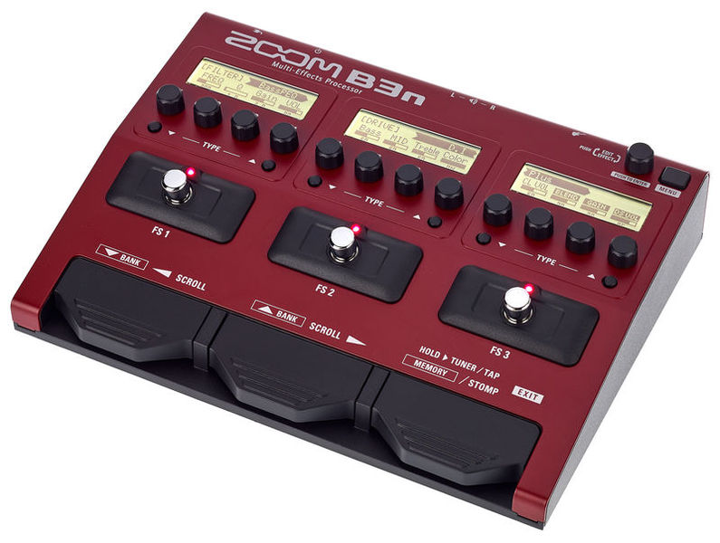 Zoom  B3N Bass Guitar Processor