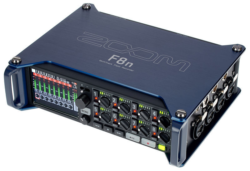 Zoom F8n Multi Track Recorder