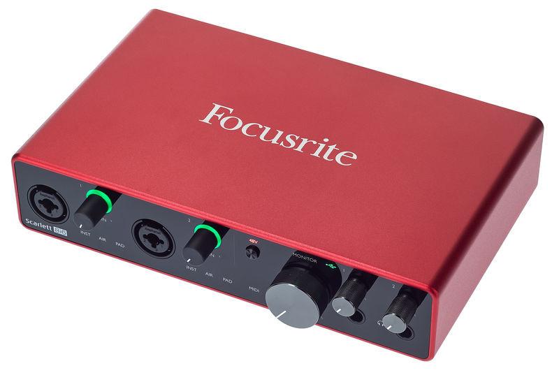 Focusrite 8i6 3rd Gen Scarlett  soundcard