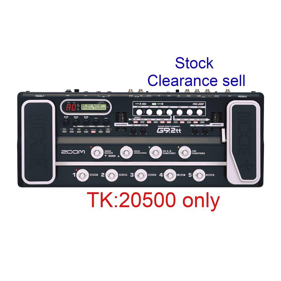 Zoom G9.2tt guitar processor