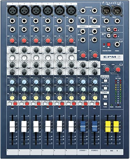 Soundcraft EPM 6 Mixer