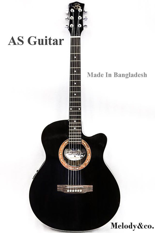 AS AS -215 BK/RED/BLUE  Acoustic Guitar