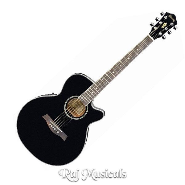 Ibanez  AEG 8E BK  Acoustic Guitar