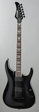 Fernandes Revolver Deluxe Black-RD-08-BLK Electric guitar