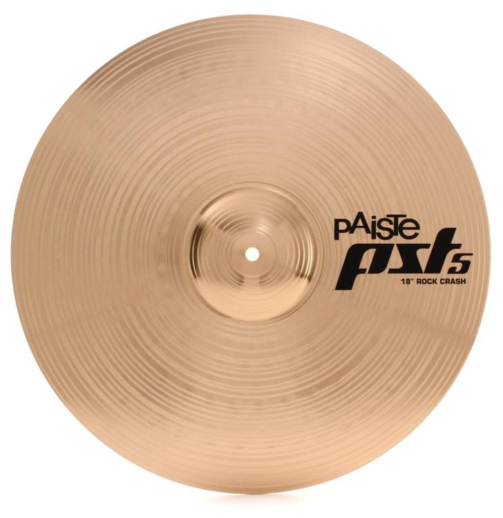 "Paiste 5 Rock Crash 18"" Cymbal"