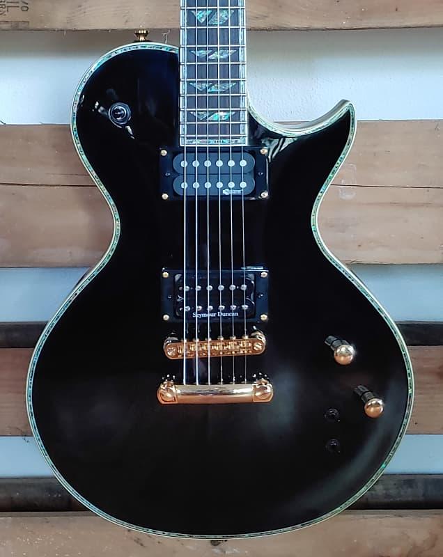Fernandes Monterey Elite Limited MEL-BLK Electric guitar