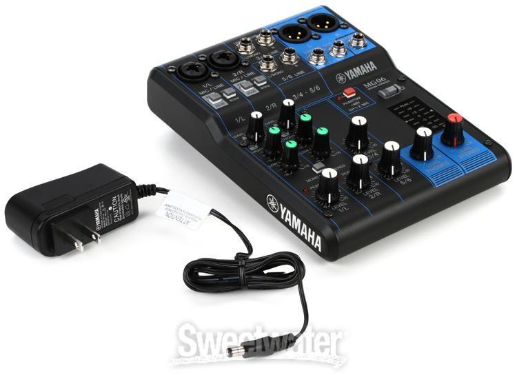 Yamaha MG 06 Mixer Console