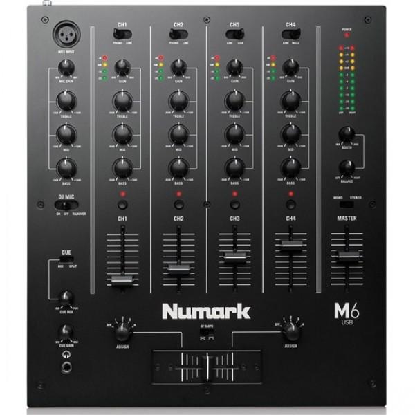 Numark M 6 Dj Mixer Console