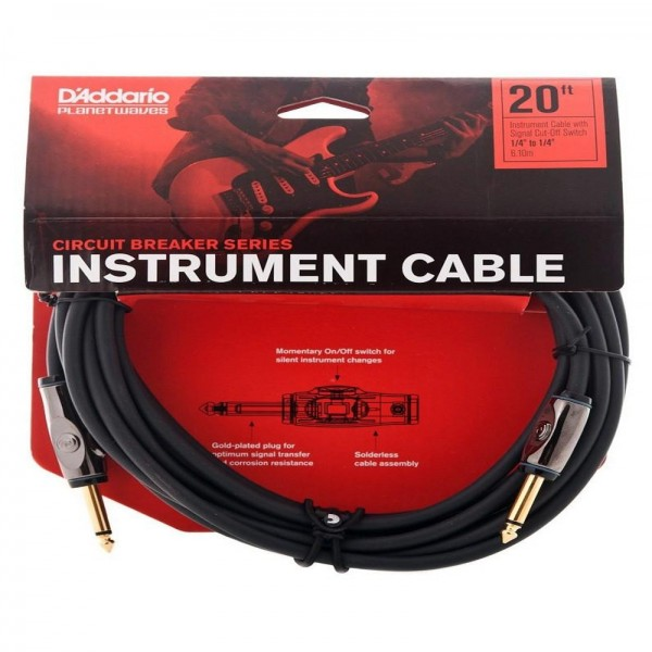 Planet Waves Instrument Cable (20 Ft)