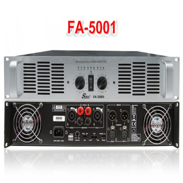 Seer Audio FA 5001 Amplifier