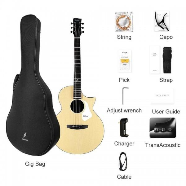 Enya guitar Nova GEQ