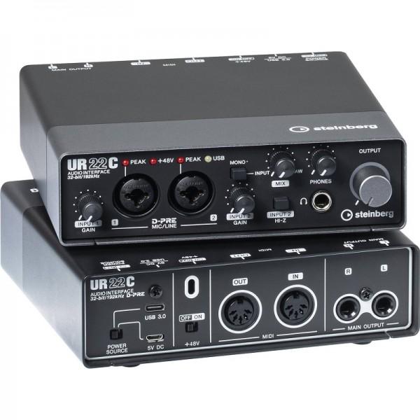 Steinberg UR22C USB Audio Interface