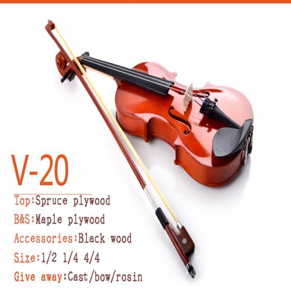 Deviser Violin V-20 MB 4/4