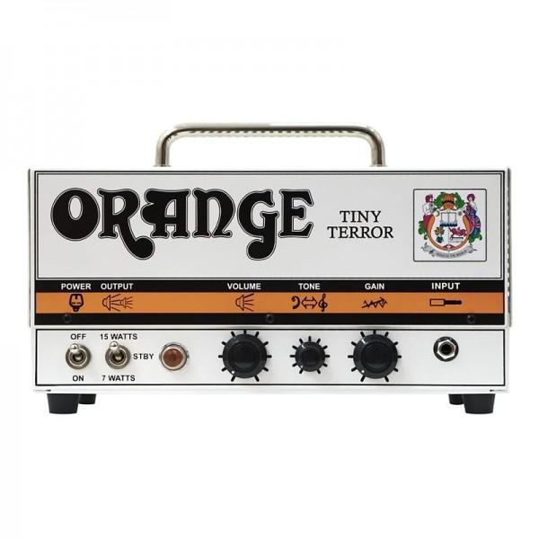 Orange Tiny Terror 15 Watt Tube Amp TT15H portable guitar head with padded gig bag