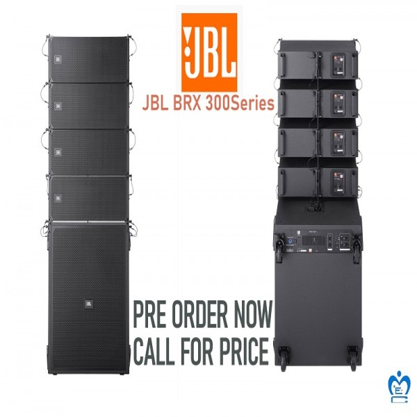JBL BRX300 Modular Portable Line Array System