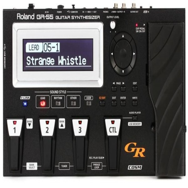 Roland GR-55 Guitar Synthesizer with GK-3 Pickup