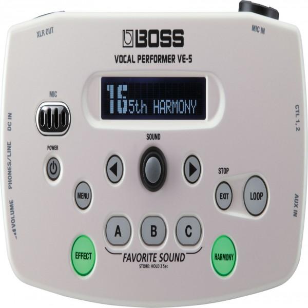 Boss VE-5 Vocal Performer - White