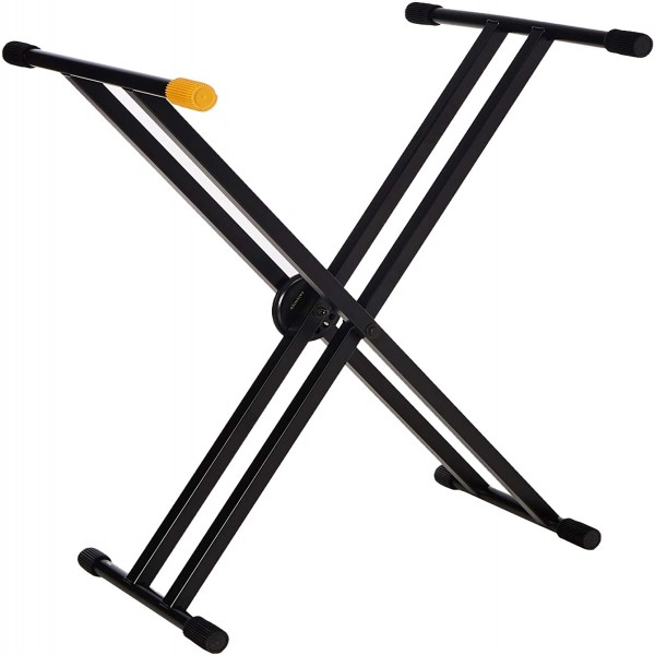 HERCULES KS120B EZ-LOK Double Braced X Keyboard Stand