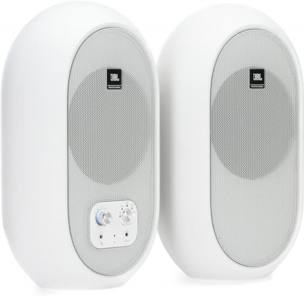 JBL JBL 1 Series 104-BT 4.5 inch Compact Powered Monitors with Bluetooth - White