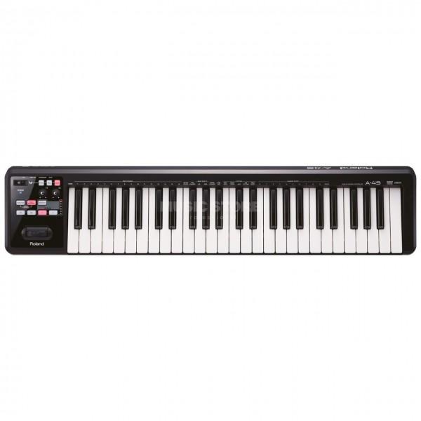 Roland A-49 49-key Keyboard Controller - Black