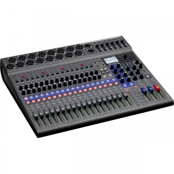 Zoom LiveTrak L-20 20-channel Digital Mixer / Recorder