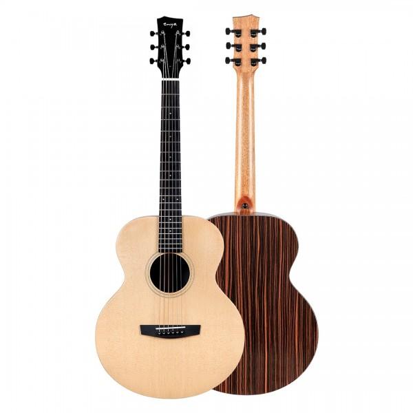 """Enya EA-X1 PRO EQ """"41"""" Trans Acoustic Guitar- Natural Matt Finish"""